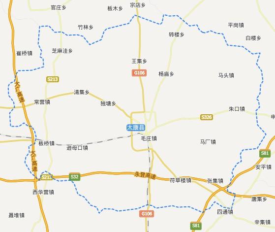 周口区划-太康县