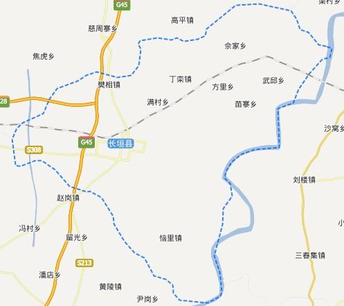 新乡区划-长垣县