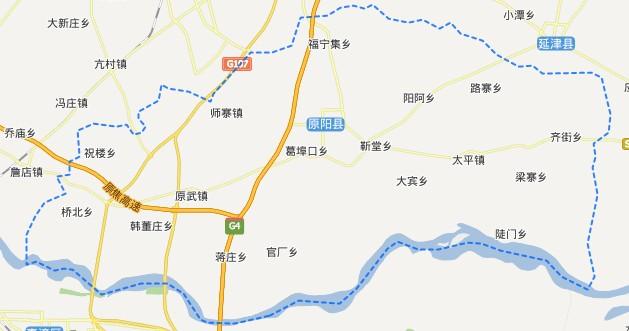 新乡区划-原阳县