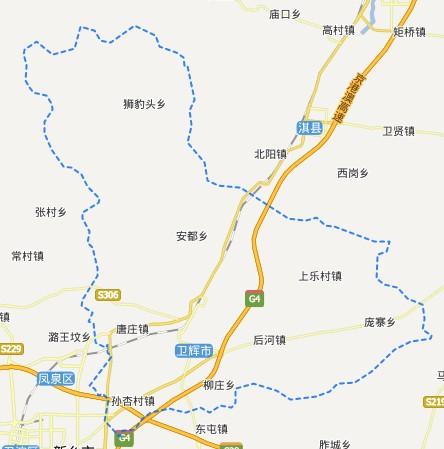 新乡区划-卫辉市