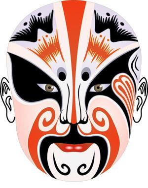 京剧脸谱司马师(资料图片)司马师(208-255)