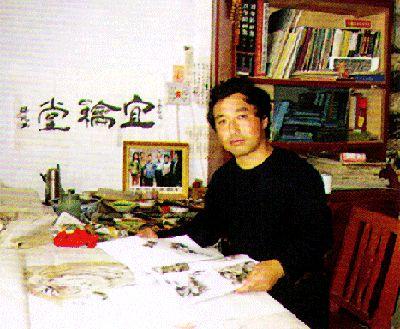 自幼喜爱绘画,时期师承王裴勤、罗金朝等先生学习素描、色彩,